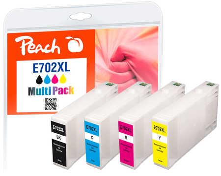 Peach  Multi Pack, compatible avec ID-Fabricant: T7021, T7022, T7023, T7024 Epson WorkForce Pro WP-4520