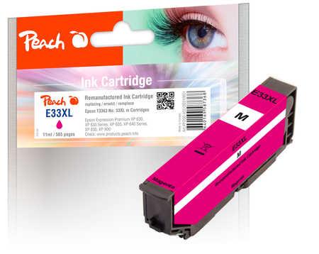 Peach  cartouche d'encre magenta compatible avec ID-Fabricant: No. 33XL m, T3363 Epson Expression Premium XP-830