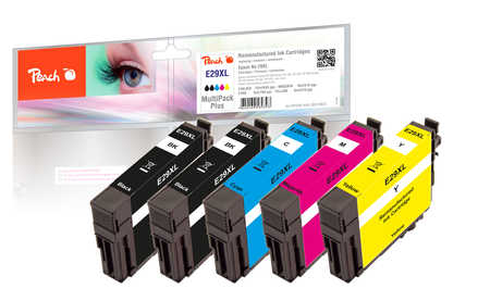 Peach  Multipack Plus compatible avec ID-Fabricant: No. 29XL Epson Expression Home XP-452