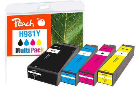 Peach  Combi Pack compatible avec HP PageWide Enterprise Color Flow MFP 586 f