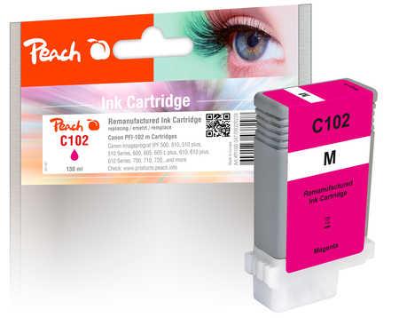 Peach Cartouche d'encre  magenta, compatible avec Canon imagePROGRAF IPF 500