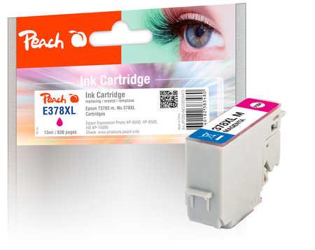 Peach Cartouche d'encre  HY magenta, compatible avec ID-Fabricant: No. 378XL, T3793 Epson Expression Photo XP-8600