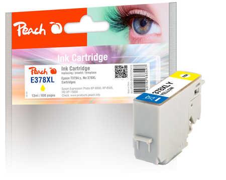 Peach Cartouche d'encre  HY jaune, compatible avec ID-Fabricant: No. 378XL, T3794 Epson Expression Photo XP-8600