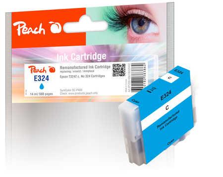 Peach Cartouche d'encre  cyan, compatible avec ID-Fabricant: No. 324, T3242 Epson SureColor SCP 400