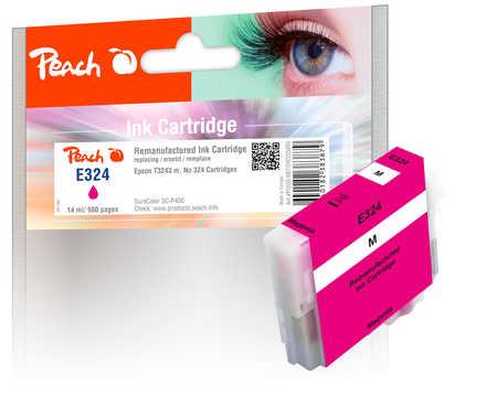 Peach Cartouche d'encre  magenta, compatible avec ID-Fabricant: No. 324, T3243 Epson SureColor SCP 400