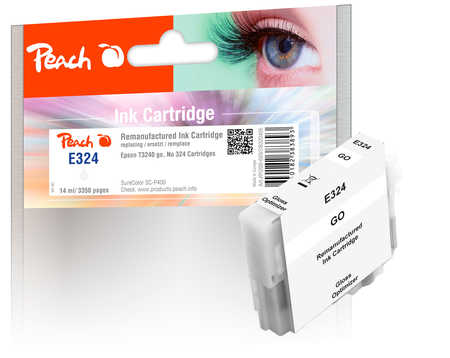 Peach  Ink Cartridge glossy optimizer, compatible with ID-Fabricant: No. 324, T3240 Epson SureColor SCP 400