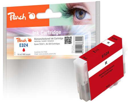 Peach Cartouche d'encre  rouge, compatible avec ID-Fabricant: No. 324, T3247 Epson SureColor SCP 400
