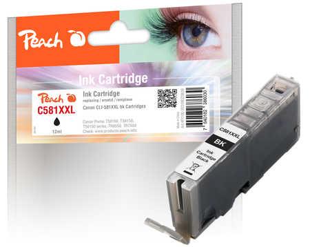 Original Peach cartouche d'encre XXL photoblack noire, compatible avec Canon Pixma TR 7520