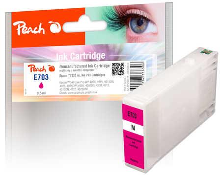 Original Cartouche d'encre Peach magenta, compatible avec ID-Fabricant: T7033 Epson WorkForce Pro WP-4520