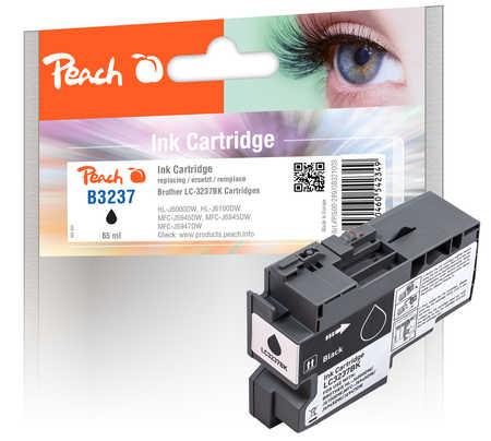Peach Cartouche d'encre  noir, compatible avec Brother HLJ 6100 DW