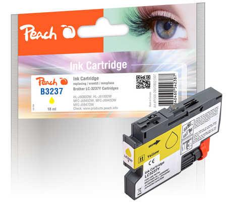 Peach Cartouche d'encre  jaune, compatible avec Brother HLJ 6100 DW