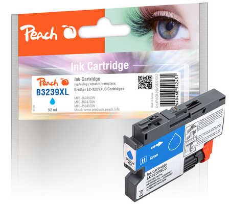Peach Cartouche d'encre  cyan XL, compatible avec Brother HLJ 6100 DW