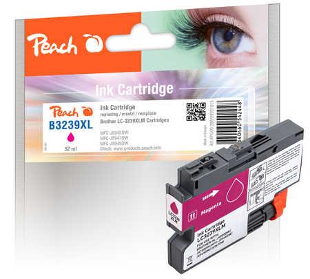 Peach Cartouche d'encre  magenta XL, compatible avec Brother HLJ 6100 DW