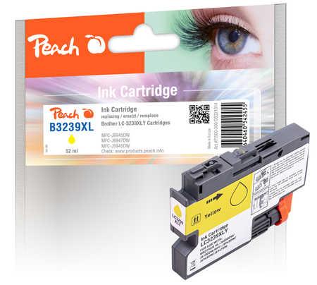 Peach Cartouche d'encre  jaune XL, compatible avec Brother HLJ 6100 DW