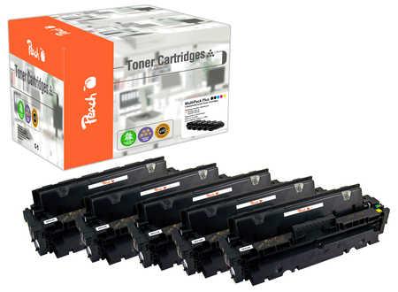 Peach Multipack Plus  compatible avec ID-Fabricant: CF410X*2, CF411X, CF412X, CF413X HP Color LaserJet Pro MFP M 477 fnw