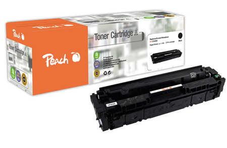 Peach  Cartouche de toner noire, comapatible avec ID-Fabricant: No. 201A, CF400A HP Color LaserJet Pro M 252 n