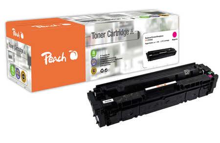 Peach  Cartouche de toner magenta, comapatible avec ID-Fabricant: No. 201A, CF403A HP Color LaserJet Pro M 252 n