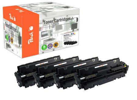 Peach Multipack , compatible avec ID-Fabricant: 410A, CF410-3A HP Color LaserJet Pro MFP M 477 fnw