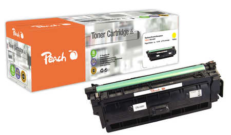 Peach  Toner Module yellow XL, compatible avec ID-Fabricant: CRG-040H y Canon LBP-712 Cdn