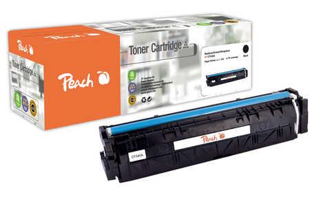 Peach  Cartouche de toner noire, comapatible avec ID-Fabricant: No. 203A, CF540A HP Color LaserJet Pro M 254 dw