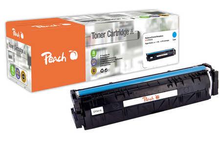 Peach  Cartouche de toner cyan, comapatible avec ID-Fabricant: No. 203A, CF541A HP Color LaserJet Pro M 254 dw
