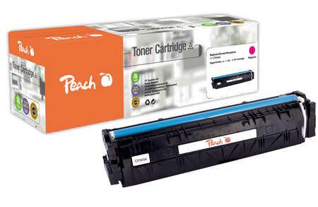 Peach  Cartouche de toner magenta, comapatible avec ID-Fabricant: No. 203A, CF543A HP Color LaserJet Pro M 254 dw