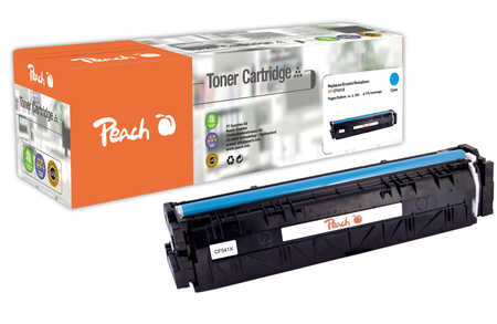 Peach  Toner Module cyan, compatible avec ID-Fabricant: No. 203X, CF541X HP Color LaserJet Pro M 254 dw