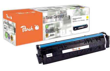 Peach  Toner Module jaune, compatible avec ID-Fabricant: No. 203X, CF542X HP Color LaserJet Pro M 254 dw