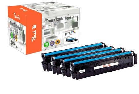 Peach Multipack , compatible avec ID-Fabricant: No. 205A HP Color LaserJet Pro MFP M 181 fw