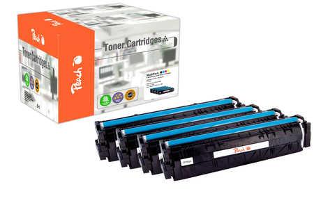 Peach Multipack , compatible avec ID-Fabricant: No. 203A HP Color LaserJet Pro M 254 dw