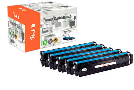 Peach Multipack Plus  compatible avec ID-Fabricant: No. 205A HP Color LaserJet Pro MFP M 181 fw