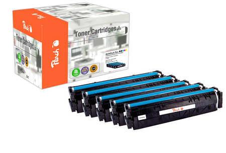 Peach Multipack Plus  compatible avec ID-Fabricant: No. 203A HP Color LaserJet Pro M 254 dw