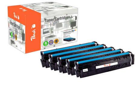 Peach Multipack Plus  compatible avec ID-Fabricant: No. 203X HP Color LaserJet Pro M 254 dw