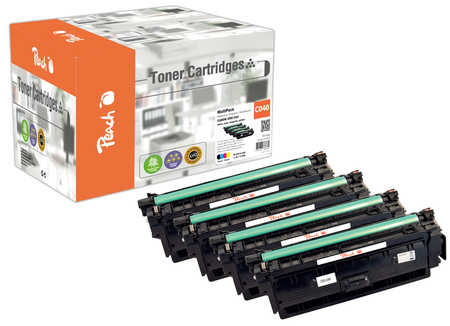 Original Multipack Peach, compatible avec ID-Fabricant: CRG-040 Canon LBP-712 Cdn