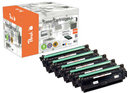 Original Multipack Plus Peach compatible avec ID-Fabricant: CRG-040 Canon LBP-712 Cdn
