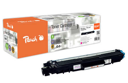 Peach  Toner Module magenta, compatible avec ID-Fabricant: TN-247M Brother MFCL 3750 CDW