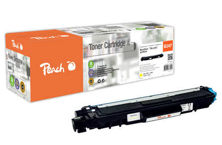Peach  Toner Module jaune, compatible avec ID-Fabricant: TN-247Y Brother MFCL 3750 CDW