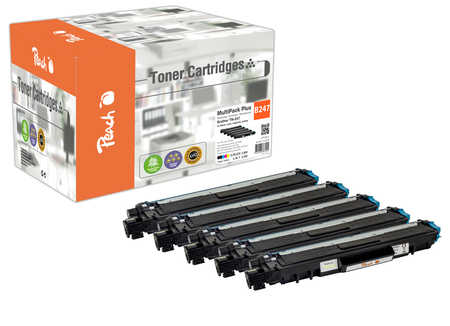 Peach Multipack Plus  compatible avec ID-Fabricant: TN-247 Brother MFCL 3750 CDW