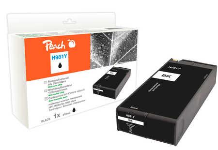 Peach  cartouche d'encre noire extra HC compatible avec HP PageWide Enterprise Color Flow MFP 586 dn
