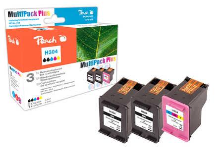 Peach  Multipack Plus compatible avec ID-Fabricant: No. 304 HP DeskJet 3720