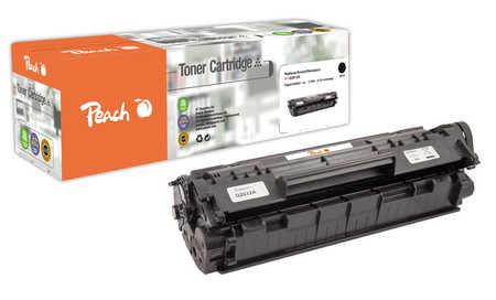 Peach  Toner Module noire, compatible avec ID-Fabricant: No. 12A BK, Q2612A, CRG-703, EP-703 HP LaserJet 1010