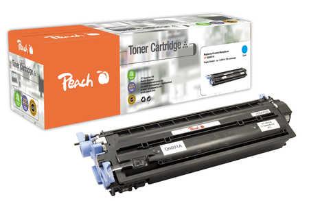 Peach  Toner Module cyan, compatible avec ID-Fabricant: Q6001A HP Color LaserJet 2600