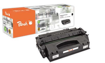 Peach  Toner Module noire, haute capacité, compatible avec ID-Fabricant: Q7553X HP LaserJet P 2015
