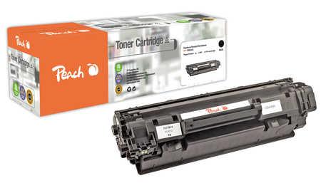 Peach  Toner Module noire, compatible avec ID-Fabricant: CB436A HP LaserJet P 1505