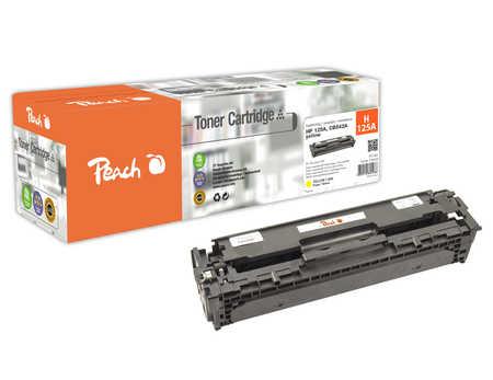 Peach  Toner Module jaune, compatible avec ID-Fabricant: CB542A HP Color LaserJet CP 1515 N