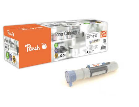 Peach  Toner Module noire, compatible avec ID-Fabricant: TN-200, TN-300 Brother P 8000