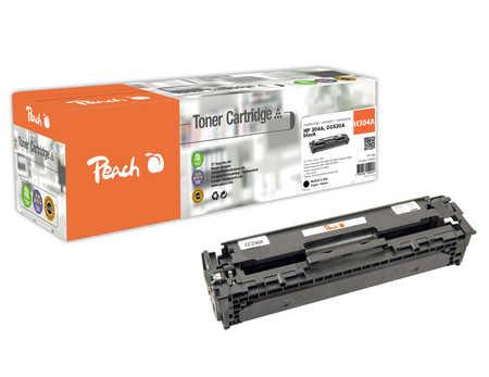 Peach  Toner Module noire, compatible avec ID-Fabricant: No. 304A, CC530A HP Color LaserJet CP 2025 N