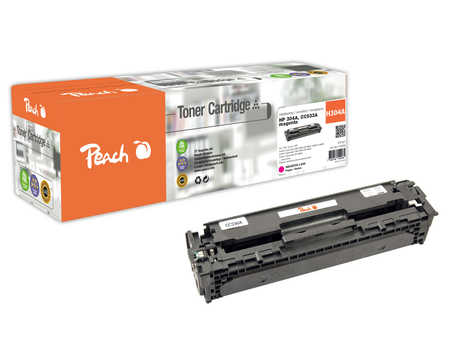 Peach  Toner Module magenta, compatible avec ID-Fabricant: No. 304A, CC533A HP Color LaserJet CP 2025 N