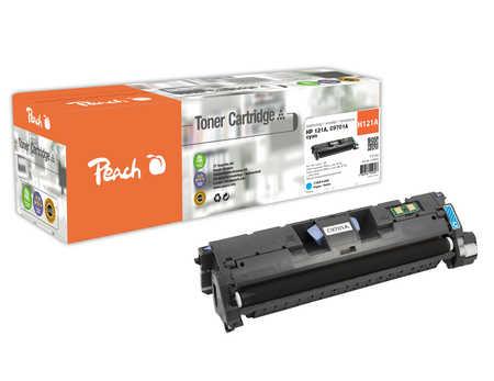 Peach  Toner Module cyan, compatible avec ID-Fabricant: C9701A, HP121A HP Color LaserJet 2500 N
