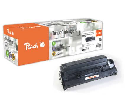 Peach  Toner Module noire, compatible avec ID-Fabricant: 13T0101 Lexmark Optra E 312 L